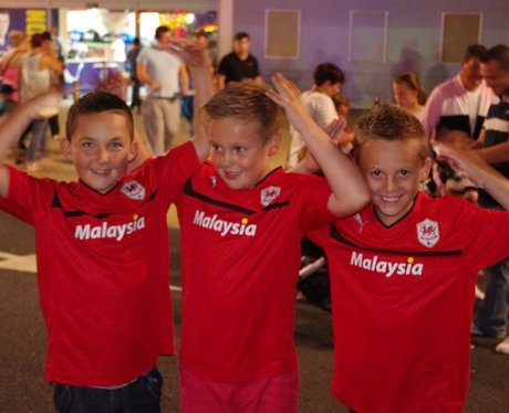 Cardiff City Launch