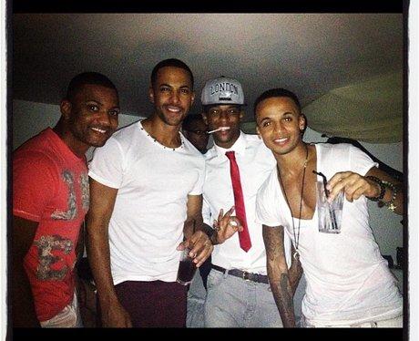 JLS celebrate their fourth anniversary.