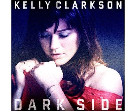 Kelly Clarkson's 'Dark Side' single cover.