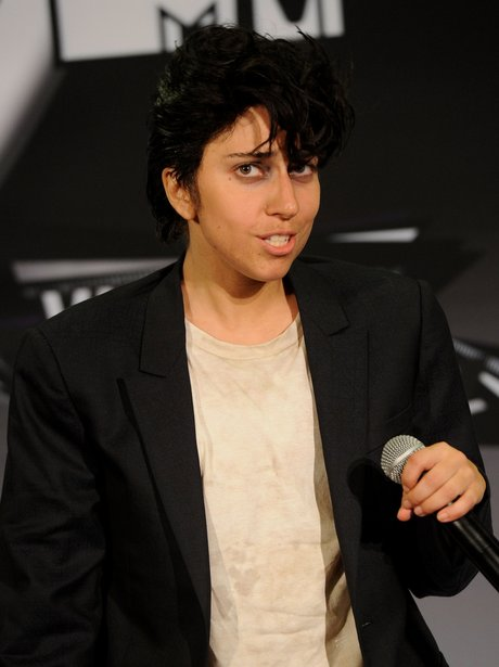 Lady Gaga as her alter ego Jo Calderone.