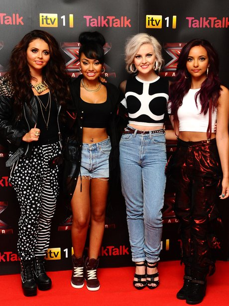 Little Mix at the x factor press launch