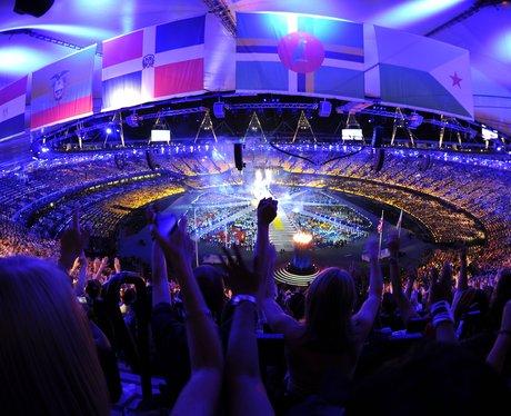 The London 2012 closing ceremony.