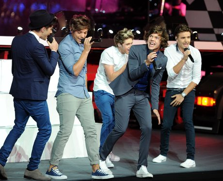 One Direction live at the Olympics London 2012 closing ceremony