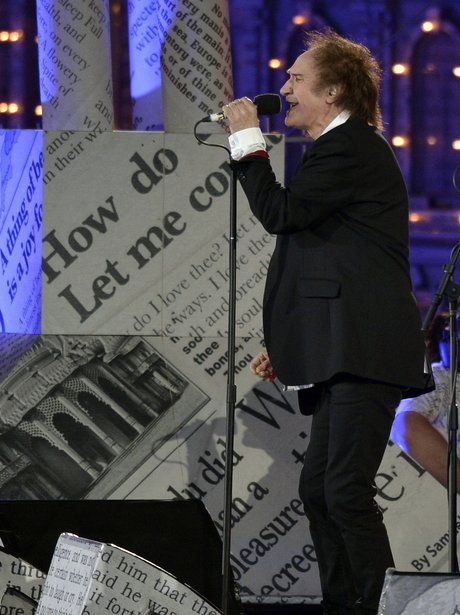 Ray Davies performs at the 2012 Olympic closing ceremony.