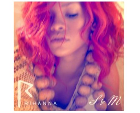 Rihanna's 'S&M' single cover.