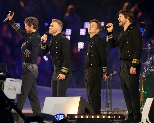 Take That Olympic Closing Ceremony