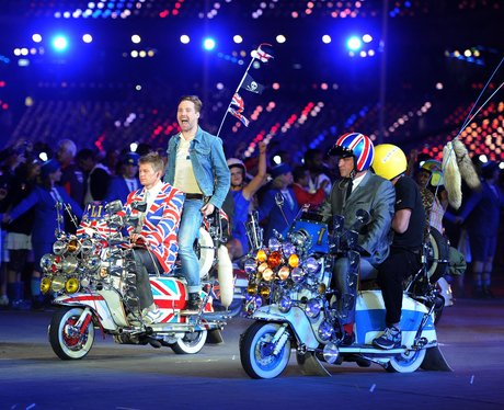 Kaiser Chiefs Live at the Olympics closing ceremony.