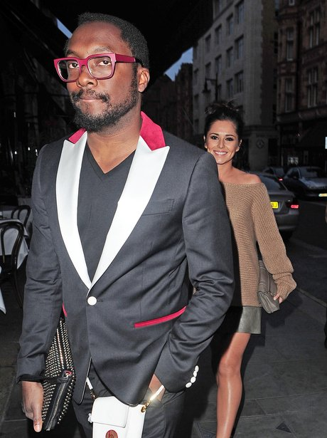 Cheryl Cole and Will.i.am go for dinner together.