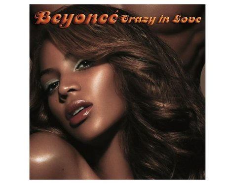 Beyonce's 'Crazy In Love' single cover.