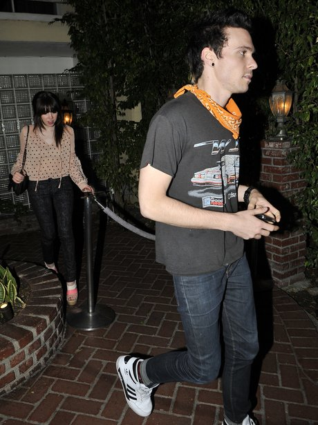 Carly Rae Jepsen out for dinner with her boyfriend