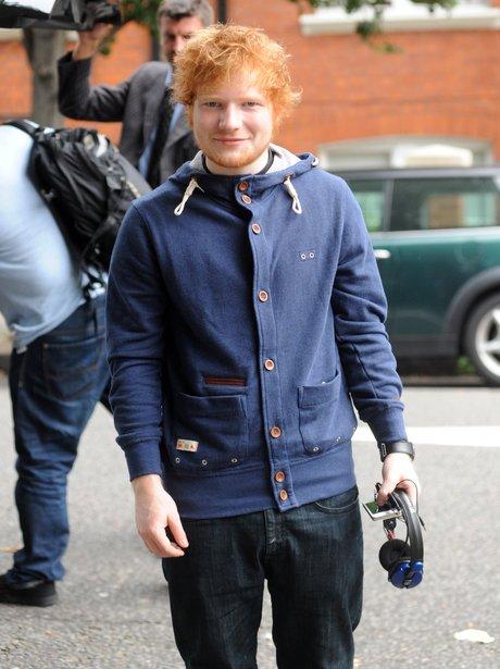 Ed Sheeran in London