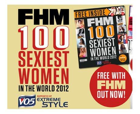 FHM sexiest women
