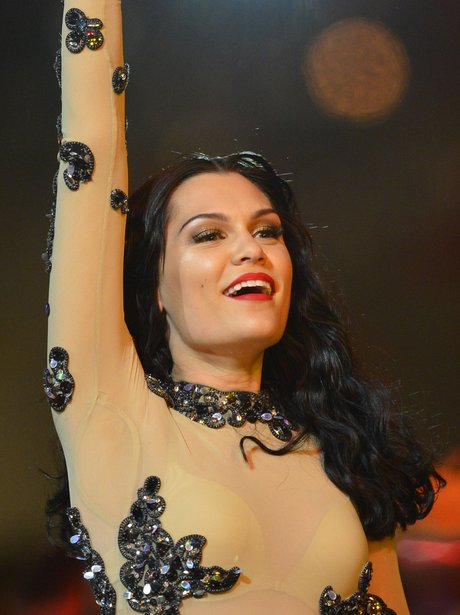 Jessie J live on stage