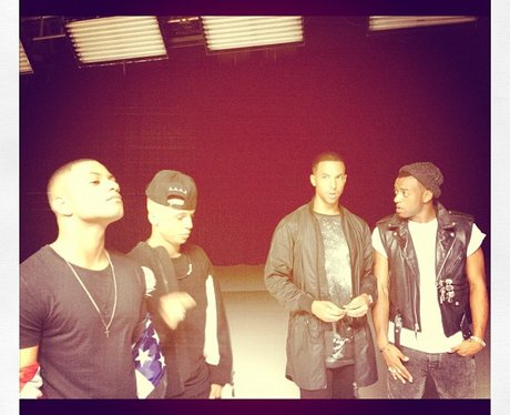 JLS teases new single and video with Twitter pictu