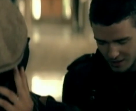Justin Timberlake's 'Cry Me A River' music video.