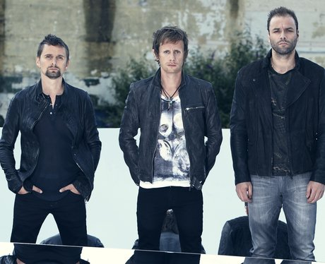 Muse pose in artwork for their new album