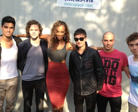 The Wanted with Tyra Banks
