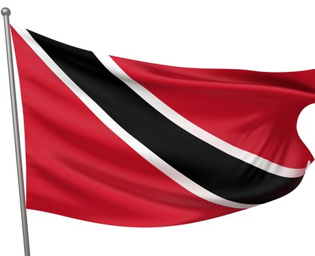 The Trinidad and Tobago national flag.