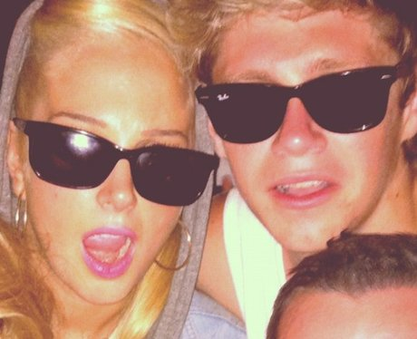 Tulisa with Nial from One Direction