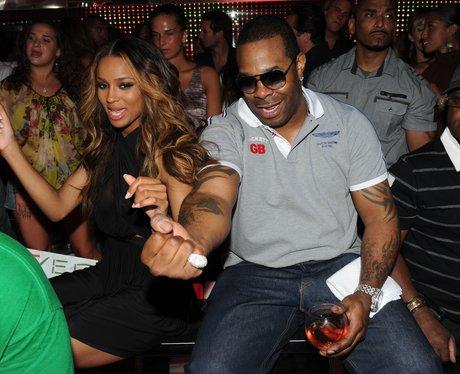 Flo Rida parties in New York City