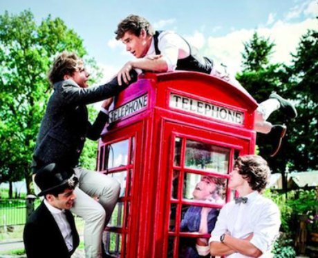 One Direction take me home album Cover