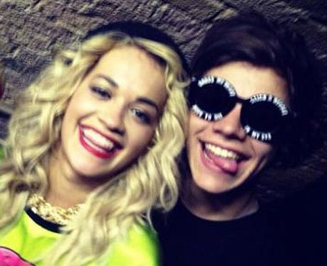 Rita Ora and Harry Styles