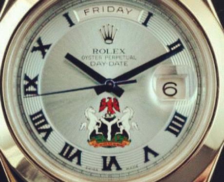 Tinie Tempah's watch