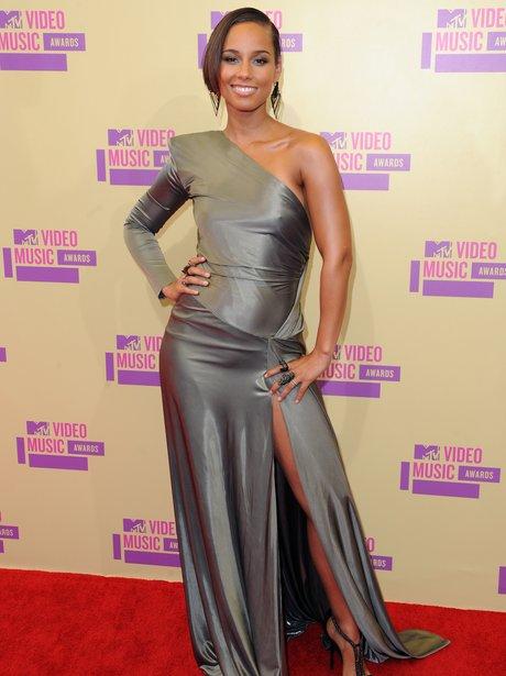 Alicia Keys at MTV VMA's 2012.