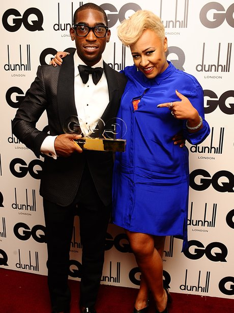 Tinie Tempah with Emeli Sande at the 2012 GQ Men Of The Year AWards