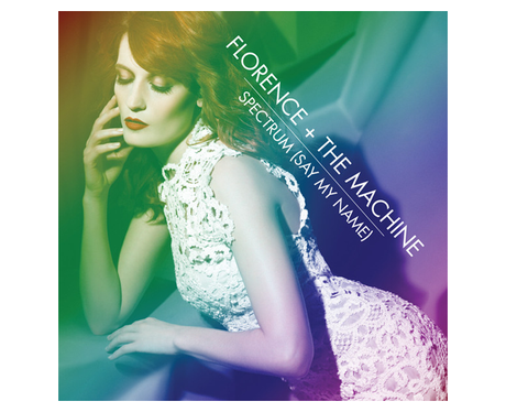 Florence & The Machune's 'Spectrum' single cover.