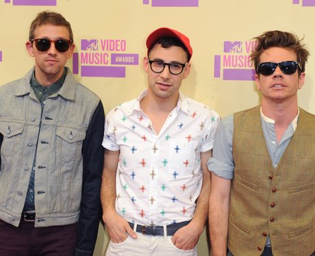 Fun arrive at the MTV VMA 2012 Awards
