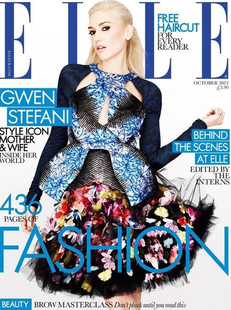 Gwen Stefani ELLE cover magazine