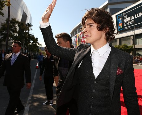 Harry Styles arrives at the MTV VMA 2012 Awrads