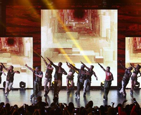 JLS perform at iTunes Festival 2012.