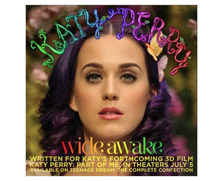 Katy Perry's Wide Awake artwork
