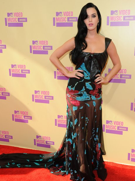 Katy Perry at the MTV VMA's 2012.