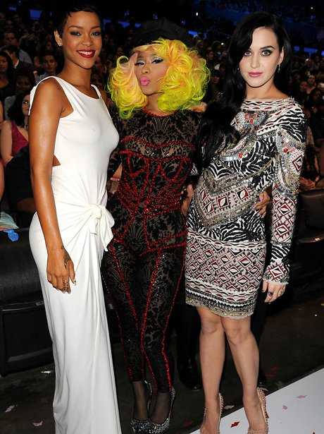 Rihanna, Nicki Minaj and Katy perry
