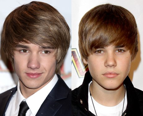 Liam Payne and Justin Bieber lookalike