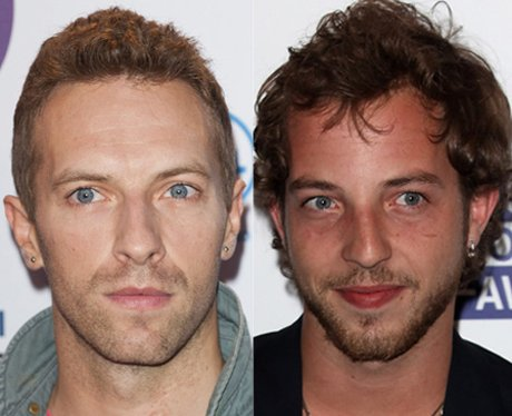 Chris Martin and James Morrison lookalike