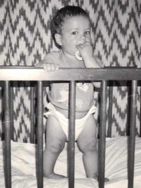Max George baby picture