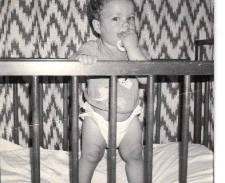 Max George's baby picture.