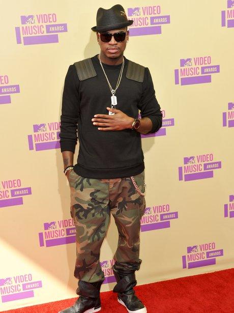 Ne-Yo at MTV VMA's 2012.