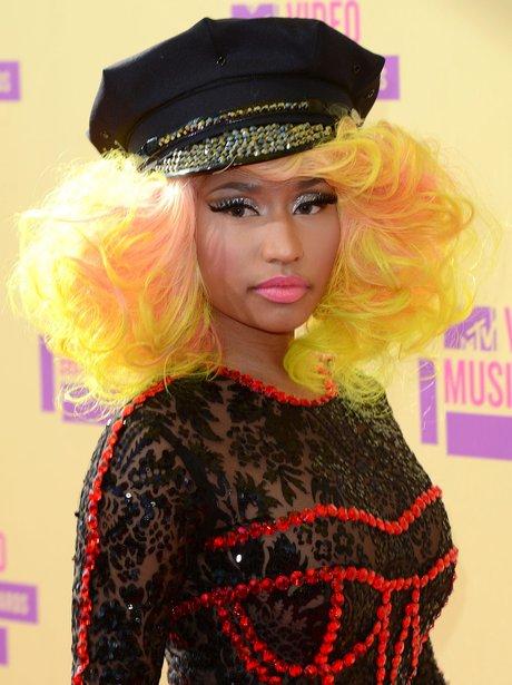 Nicki Minaj Arrives at the MTV VMA 2012 Awards