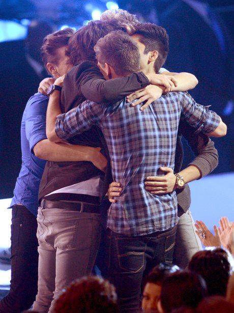 One Direction at the MTV VMA 2012 awards