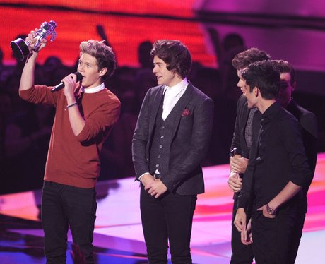 One Dirction mtv vma 2012 awards