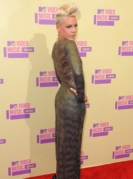 Pink at the MTV VMA's 2012.