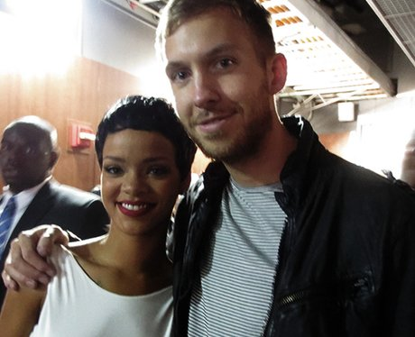 Calvin Harris and Rihanna