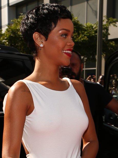Rihanna Arrives At The MTV VMA 2012 Awards