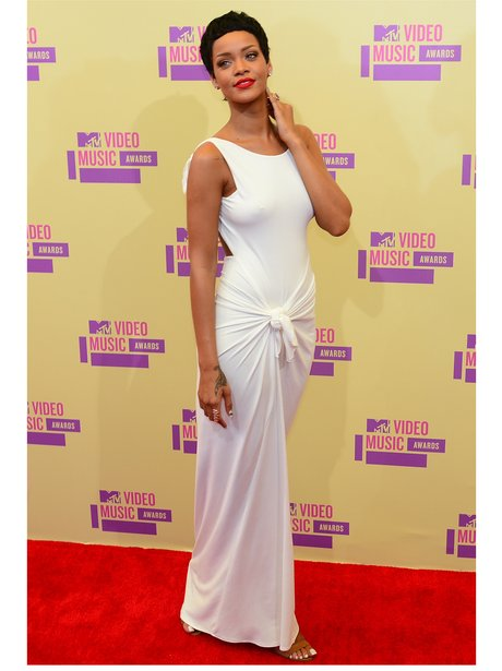 Rihanna at the MTV VMAs 2012.