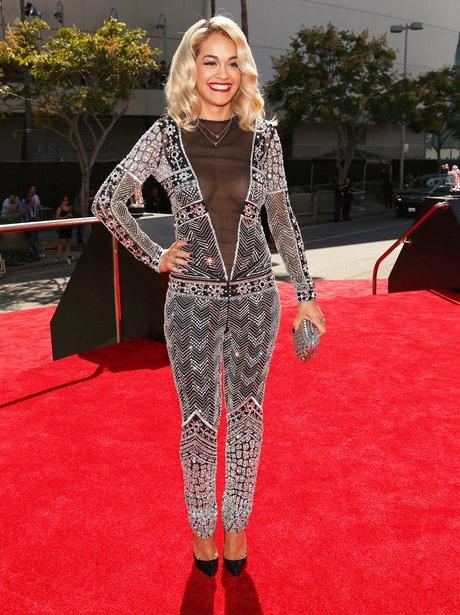 Rita Ora at MTV VMA's 2012.